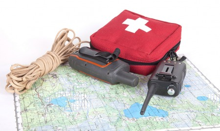 First Aid Kit and Map